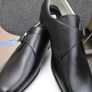 新品 メンズ革靴 黒 27.5㎝ 合皮 札幌 西岡店 - 札幌市