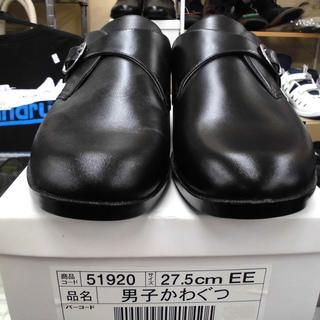 新品 メンズ革靴 黒 27.5㎝ 合皮 札幌 西岡店 - 靴/バッグ