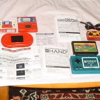 108種類遊べるゲーム機 3種類 と 小型ゲーム機 (合計4機種...