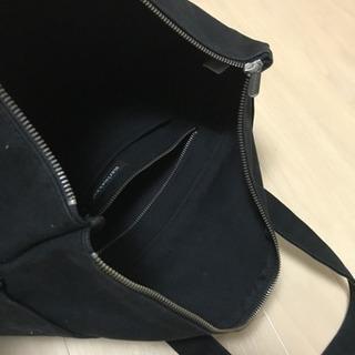 マリメッコ トートバッグ 黒 - 新宿区