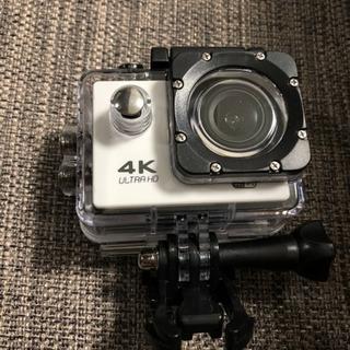 【防水】 4K Ultra HD アクションカメラ【WiFiコン...
