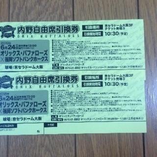 6/24  オリックス対ソフトバンク