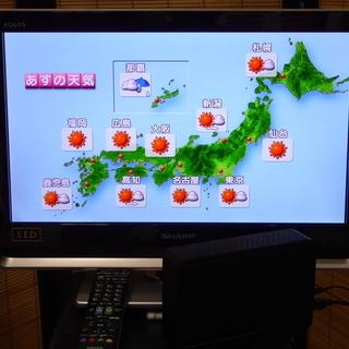 AQUOS LC-20DZ3 2TB外付HDD付!LEDハイビジョ...