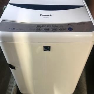 洗濯機   Panasonic   NA-F45ME5 - 家電