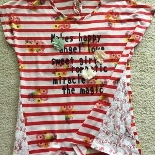 女の子用Tシャツ
