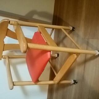 子供用椅子  ハイチェアの画像