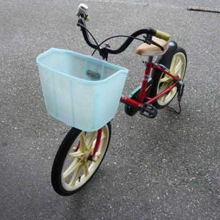 【中古】子ども用自転車 16インチ 赤