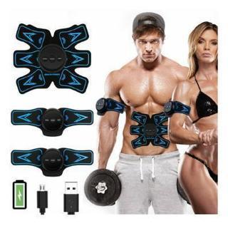 EMS腹筋ベルト 腹筋トレーニング USB充電式