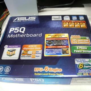 LGA775 マザーボード ASUS P5Q 中古 動作確認済