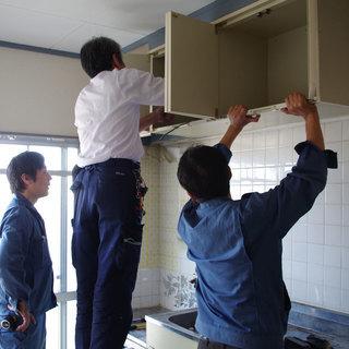 住宅設備機器の施工スタッフ募集
