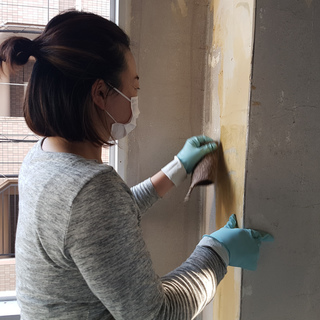 DIY興味ある方!ペンキ塗りやフローリング施工