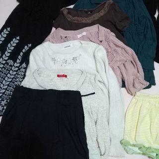 レディース、メンズワイシャツセット ワンコイン anysis レッ...
