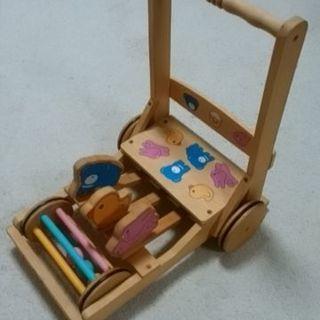 幼児用 手押し車
