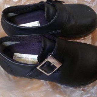 子どもフォーマル靴 男女可 15-16㌢調節可能