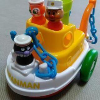 アンパンマンのお舟おもちゃ