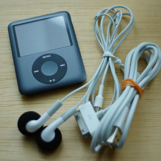 再値下げしました!ipod nano 8GB black 第3世代