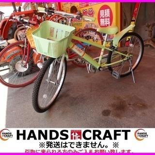 Julep 子供向け自転車 24インチ 緑 取説付
