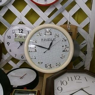 札幌 時計コーナーより【たれぱんだのウォールクロック】スタンド付...