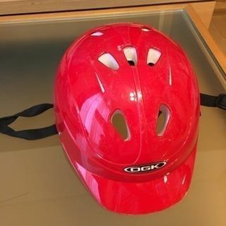 ヘルメット 幼児用 47〜52センチ 赤の画像