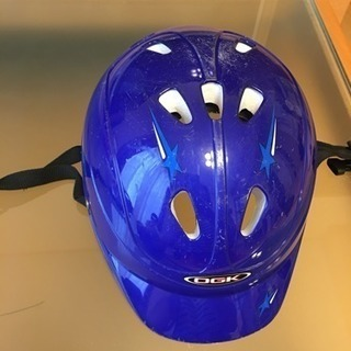 ヘルメット 幼児用 47〜52センチ 青