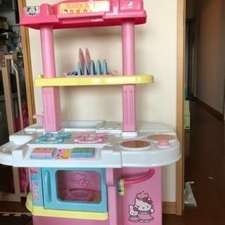 本日限定値下げ キティちゃん ままごとキッチン
