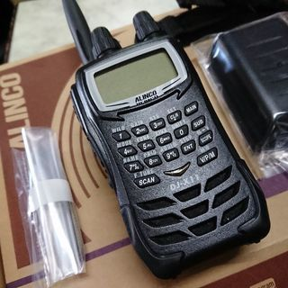 アルインコ受信機 DJ-X11W CQオームオリジナル