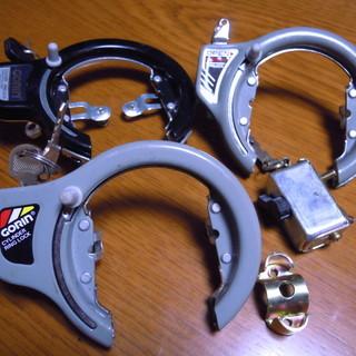 自転車のカギ 4個