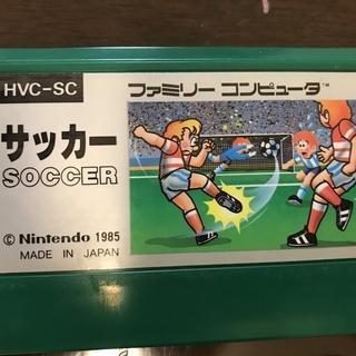 中古ファミコンソフトの出品です。 サッカー