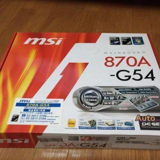 MSI 870A-G54 ソケットAM3