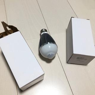 人感センサー付き LED電球 2個
