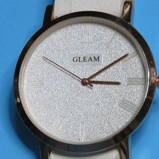 GLEAM ビッグマウス白ベルトです。
