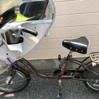 子ども乗せ自転車 取りに来ていただける方(つ﹏<)・゚。