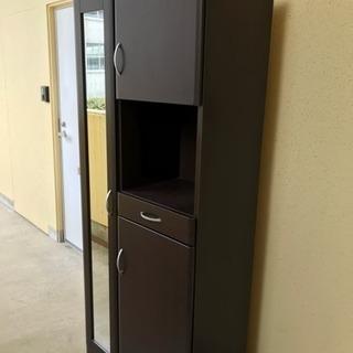 【リサイクルサービス八光 配達設置OK】ブラウン木目調 靴箱の画像