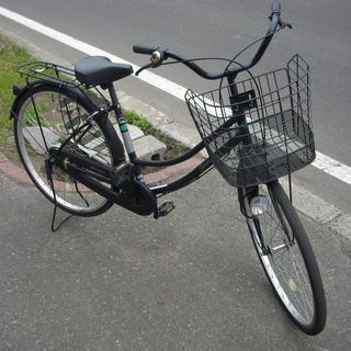 札幌 ママチャリ 26インチ 自転車 黒 アウトレットモノハウス白石店