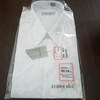 未使用 半袖 白ワイシャツ