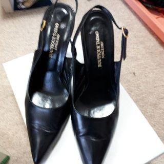 革靴ピンヒール