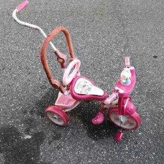 キティちゃん折り畳み三輪車
