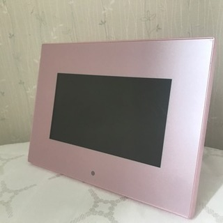 【新品】デジタルフォトフレーム パール7 DP13-70 ピンク