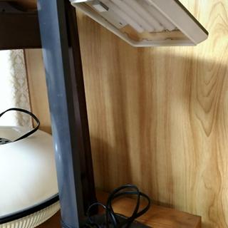 【あげます】電気スタンド(卓上照明)