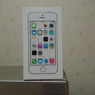iPhone 5S 16G ゴールド AU