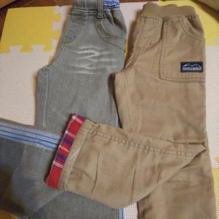 男の子長ズボン110cmチノパン、ジーパン