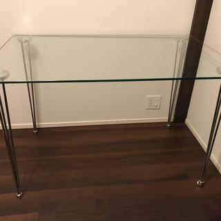 ダイニングテーブル  ガラストップ