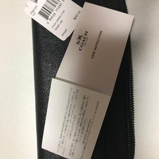 最終値下げ 新品COACHの財布