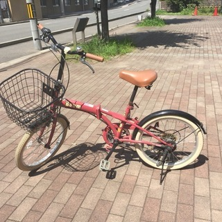 交渉中 ギア付き オシャレ自転車 beem もちこ 西京極の生活雑貨の中古
