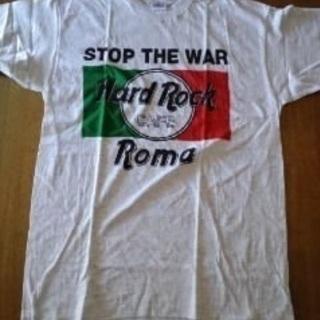 (未使用)TシャツⅠ ハードロックカフェ ローマ <イタリア製 ...