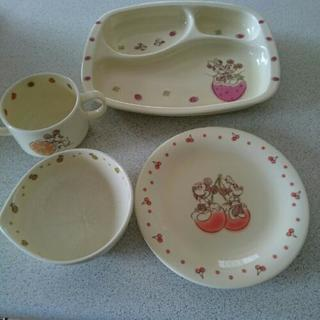 ディズニー ミッキーマウス 陶器 食器セット