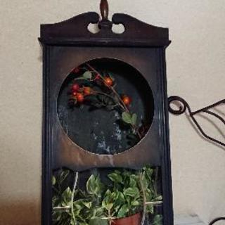 お譲り先決定 スリゲル型古時計 中身ナシ 精工舎