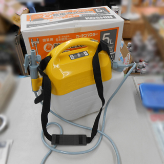 工進 ガーデンマスター 噴霧器 5L GT-5HS 乾電池式 散...