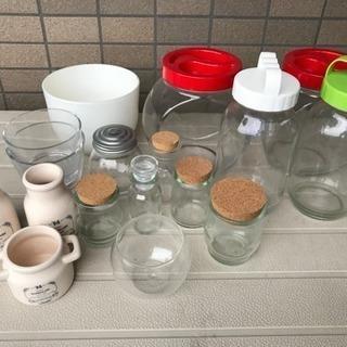 ガラス瓶色々(7月初旬処分します)