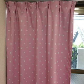 腰高窓 カーテン 2枚組